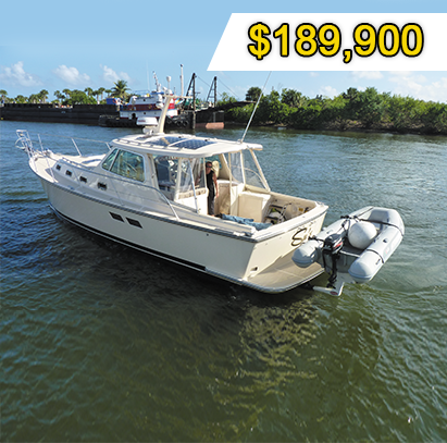 36´Island Packet 2002 - Xperience Florida Marine