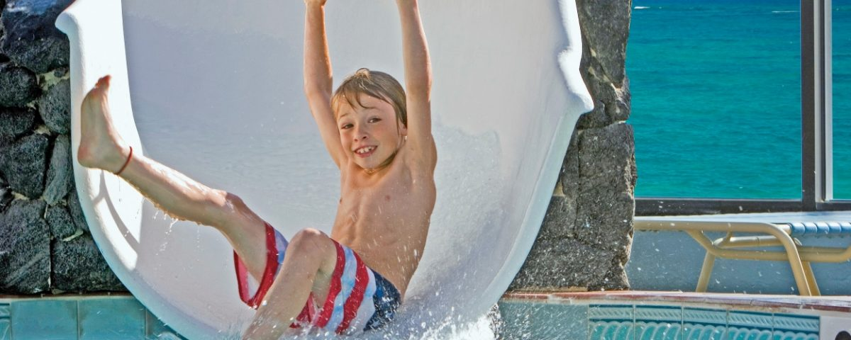 Kid enjoying pool - Xperience Florida Marine